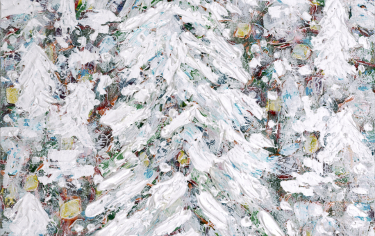 White Out, 20x16, Artist's Private Collection