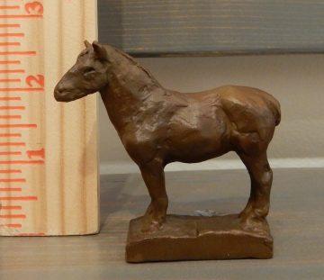 bronze sculpture by Dan Ostermiller